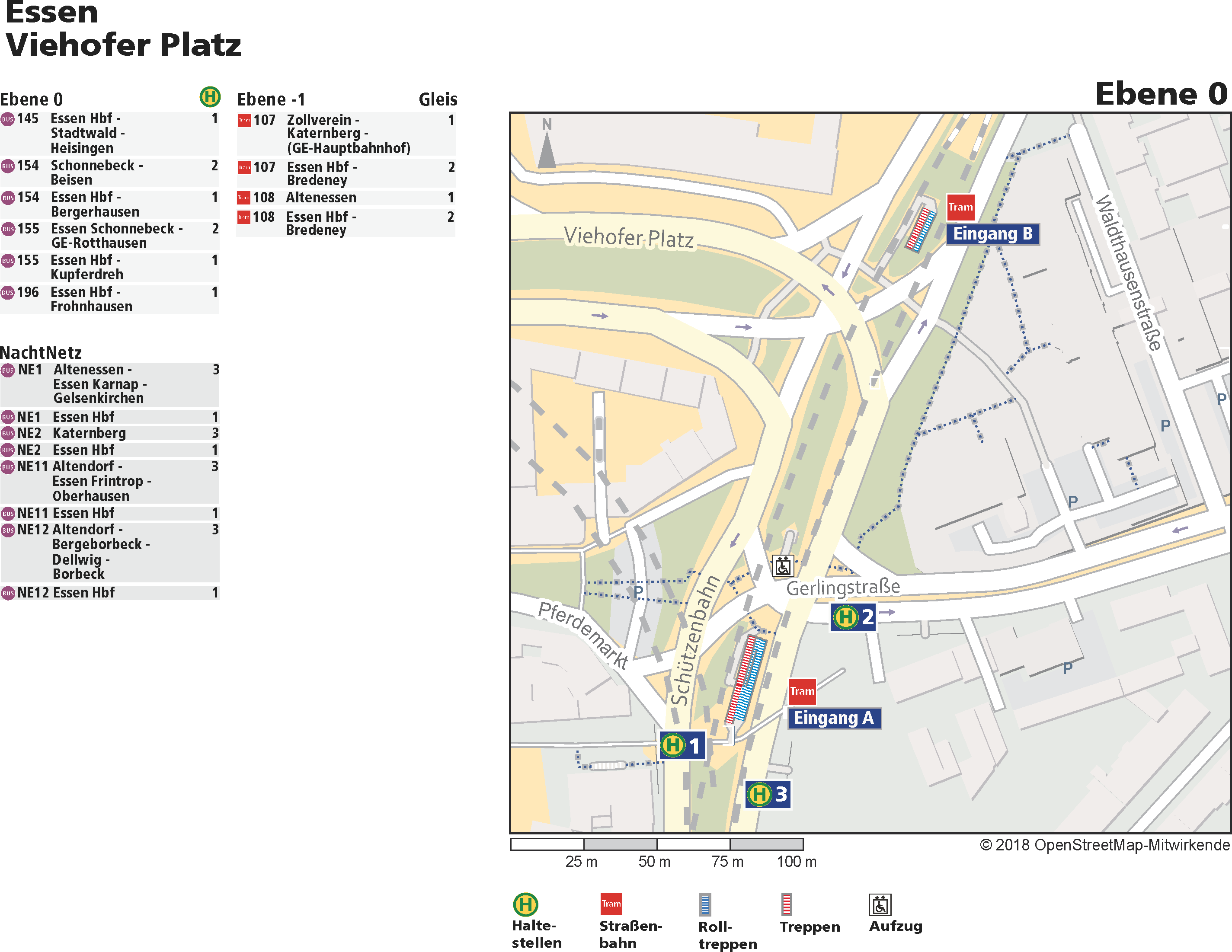 Haltestellenplan